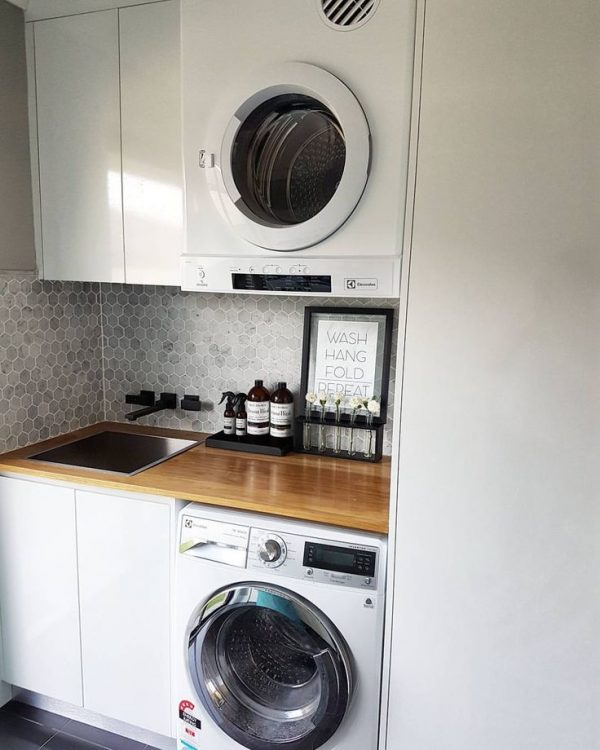 Collection Best 25  Small Laundry Ideas On Utility Room Medium