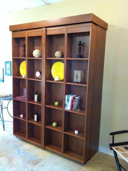 Collection Boaz Bifold Bookcase Bedmurphy Bed Depot Medium