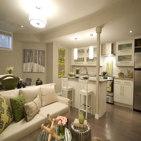 Collection Small Basement Apartment Decorating Ideas Decorating Medium