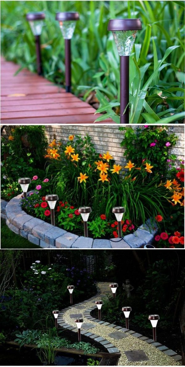 Collection Solar Powered Garden Decorhome Outdoor Decoration Medium