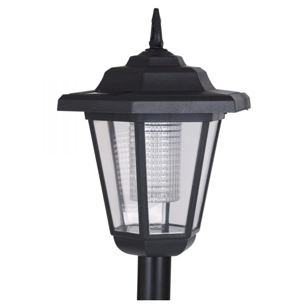 Collection Solar Powered Garden Lights Lantern Lamp Black Led Pathway Medium