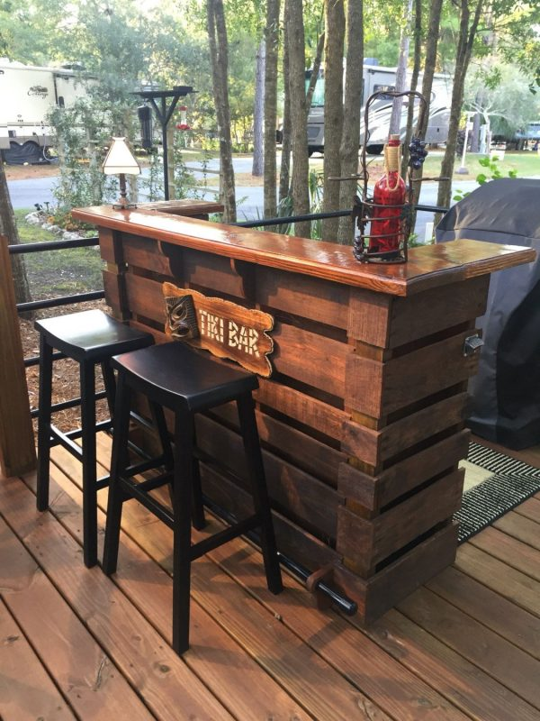Collection The Kona   Pallet Bar   Tiki Bar March Sale   The Most Medium