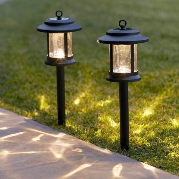 Collection Windsor Solar Garden Stake Lanternslights4funcouk Medium