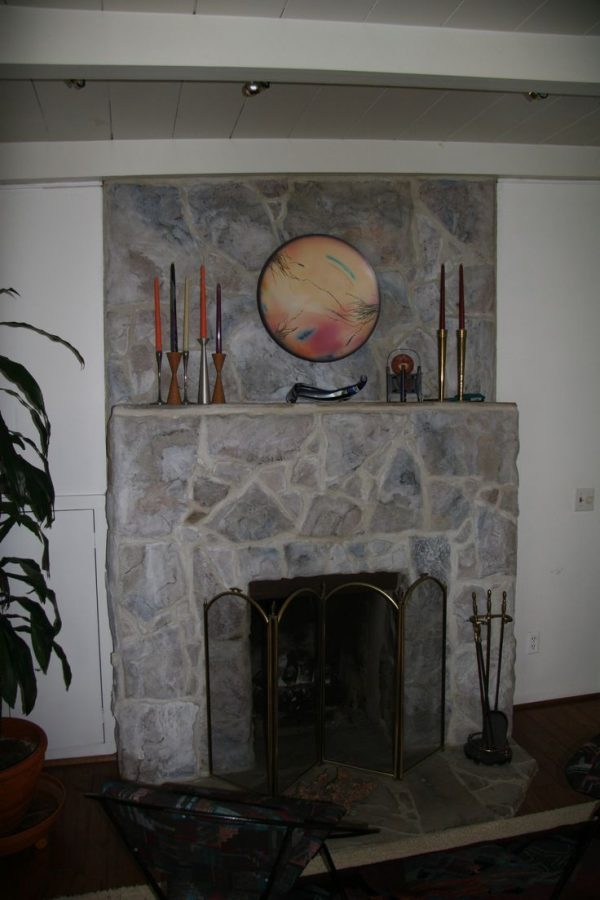 Creative 10  Images About Fireplace To Paint Or Not To Paint Medium