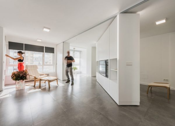 Creative Apartments With Movable Walls Inspire Through Flexibility Medium