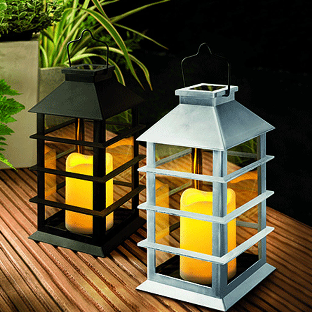 creative cole bright solar led flickering hanging coach candle