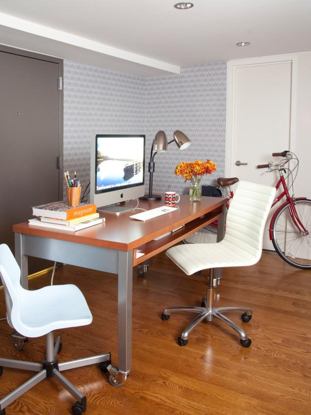 creative decorating ideas for a small bedroom or home officehgtv