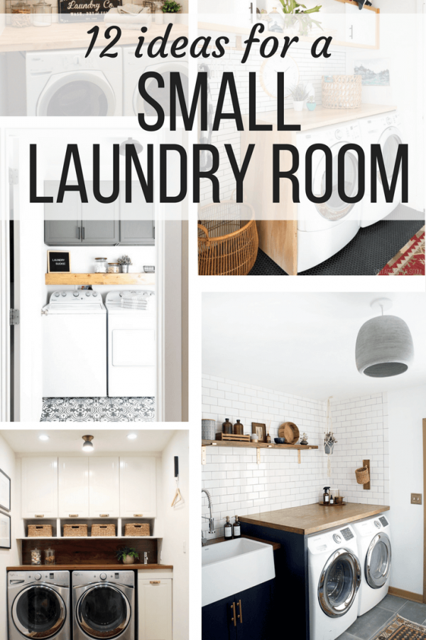 Creative Laundry Room Ideas 12 Ideas For Small Laundry Rooms Medium