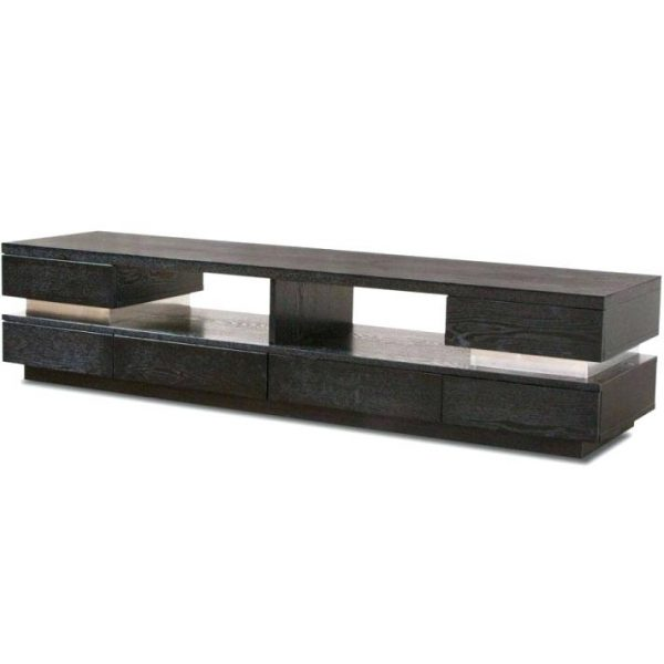 Creative Low Height Tv Console The Modern Corridor Media Console In Medium