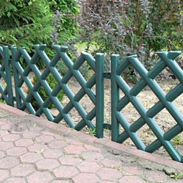 Creative Plastic Garden Fence Panels Boarder Lawn Palisade Edge Medium