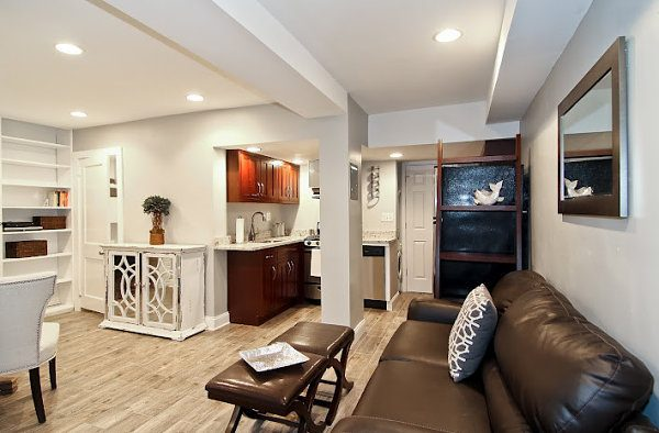 Creative Stylish Basement Apartment Ideas