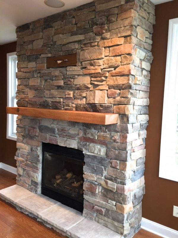 Example Of A A Diy Stone Veneer Installation Step By Step North Star Medium