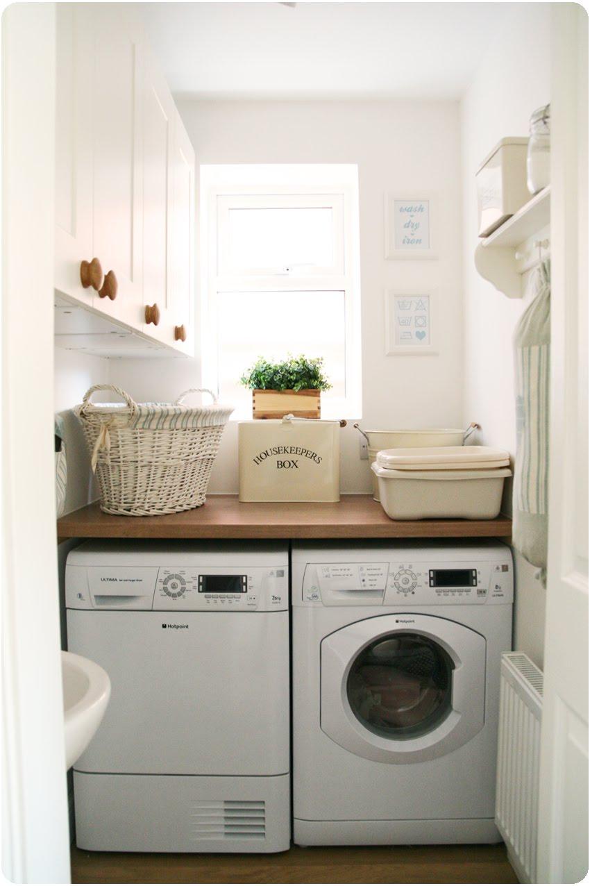 example of a countrykitty my teeny tiny laundry room