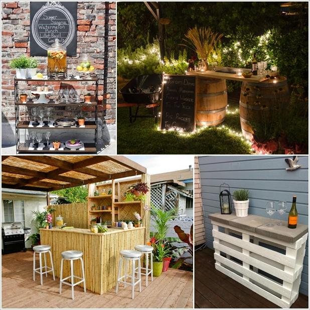 example of a creative and lowbudget diy outdoor bar ideas diy smartly