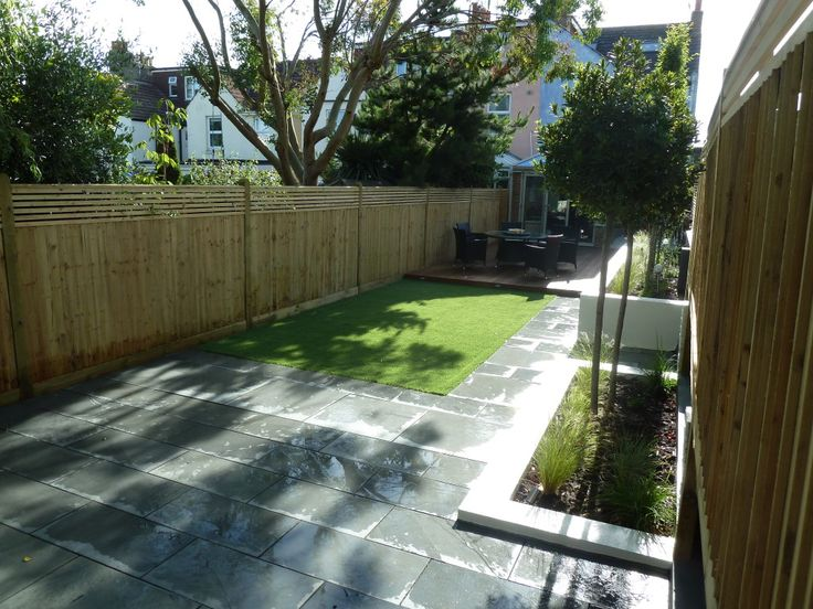 example of a design for long narrow garden google searchhannahs