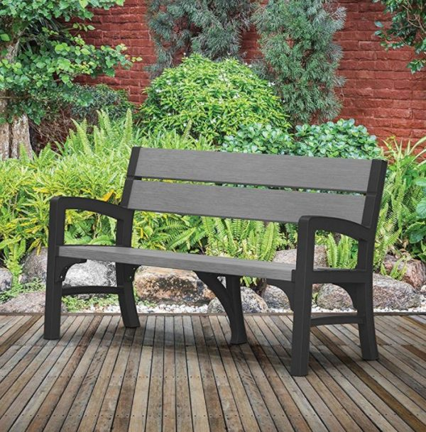 Example Of A Resin Garden Bench Seat Quality Plastic Sheds Medium