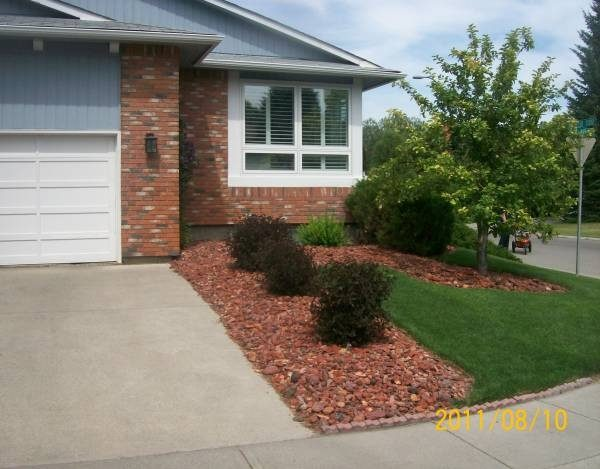 Example Of A Side Driveway Landscaping Ideas Medium