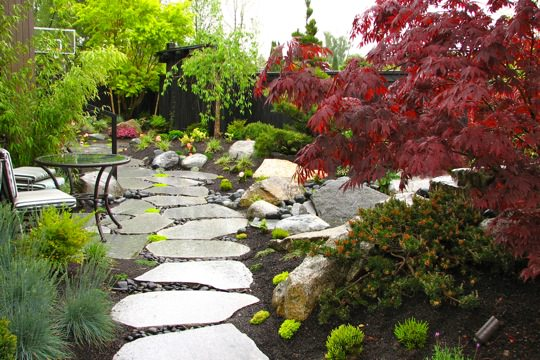 Explore Home Decor Wonderful Japanese Small Garden Designs Medium