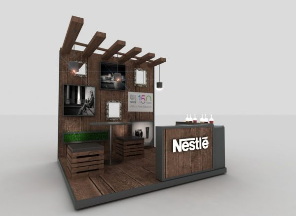 Explore Nestle Leadership Activation Standdesign Booth Medium