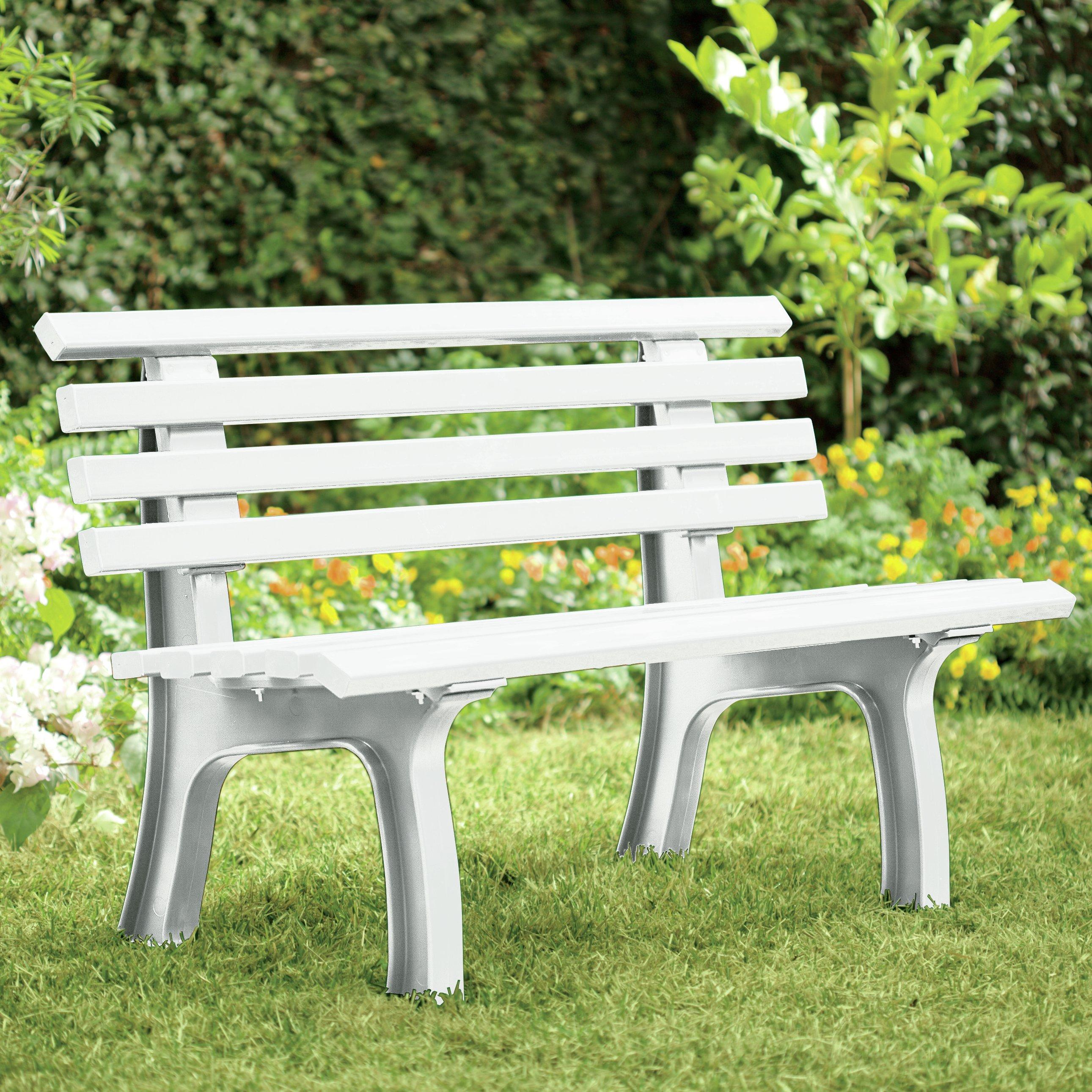 explore plow   hearth resin park bench   reviewswayfair