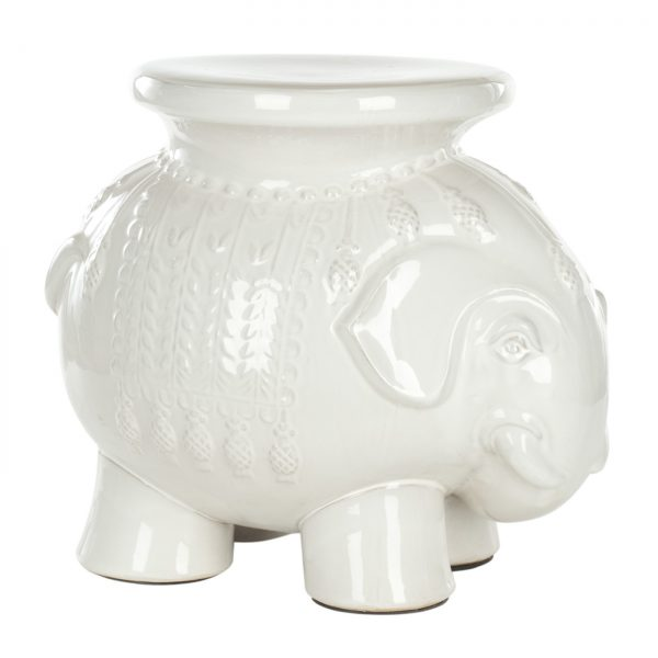 Explore Safavieh Acs4501 Thailand Elephant Ceramic Garden Stool Medium