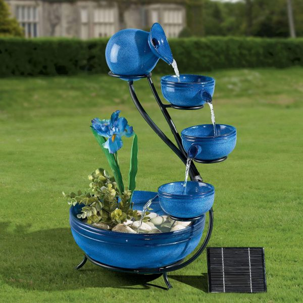 Explore Solar Powered Garden Fountains  Outdoor Decorations Medium