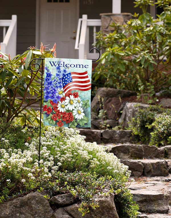 Explore Toland Home Garden Patriotic Welcome Garden Flag 112060