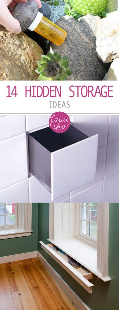Fresh 14 Hidden Storage Ideas Medium