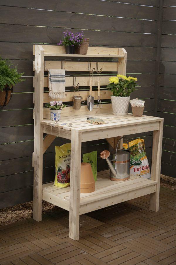 Fresh 16 Potting Bench Plans To Make Gardening Work Easythe Medium