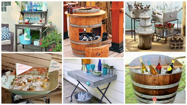 Fresh 19 Super Easy   Cheap Diy Outdoor Bar Ideas Medium