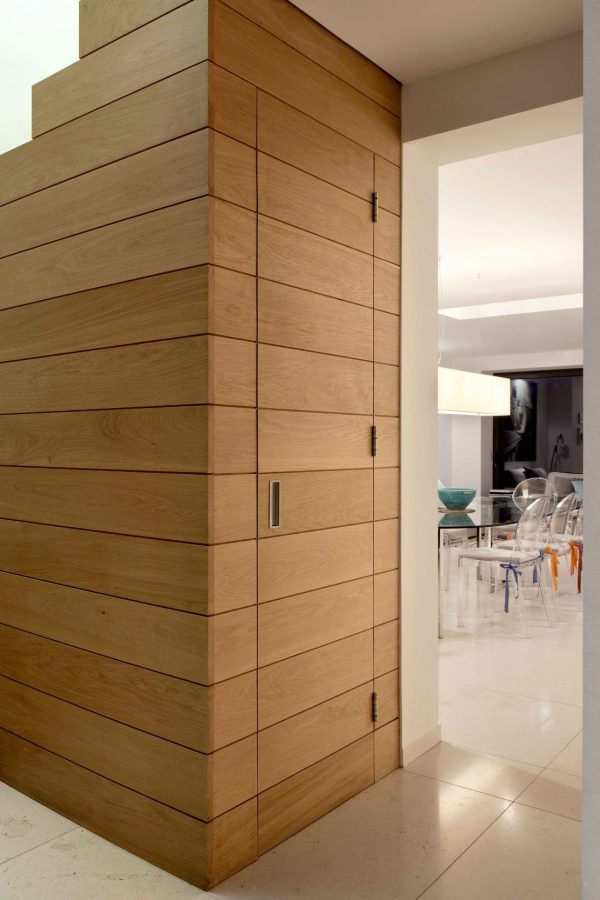 Fresh Hidden Wooden Door Timber Cladding Extrarchitecture Medium