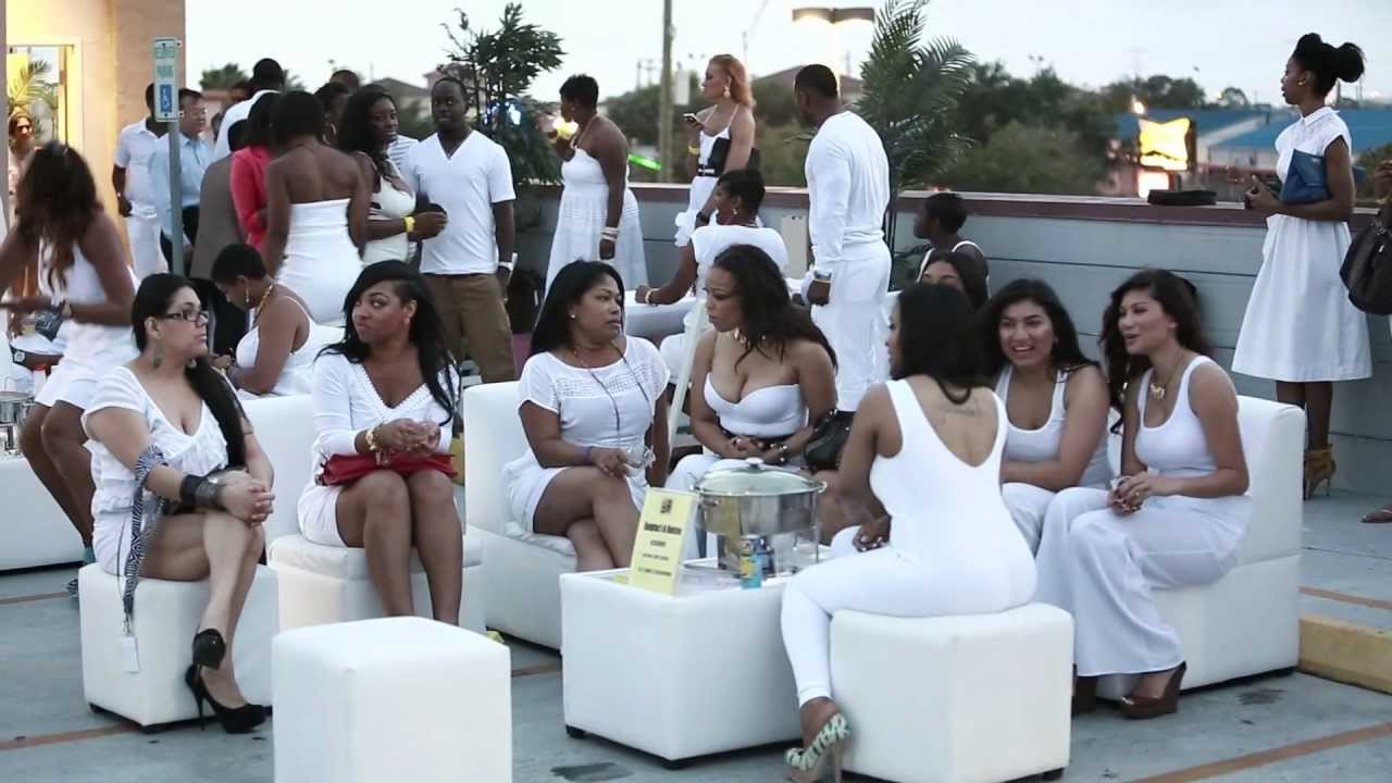 fresh icon all white rooftop party fashion show and fundraiser