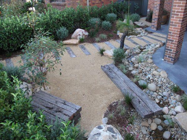 Fresh Modern Australian Native Garden Design Balgowlah Medium