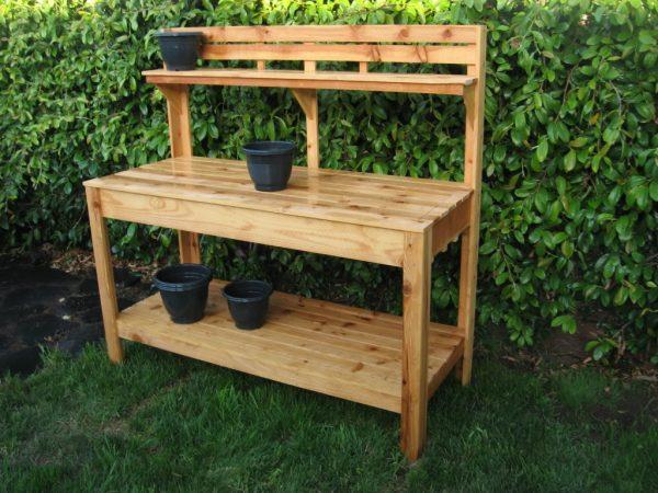 Fresh The Benefit In Having Diy Garden Work Benchinterior Medium