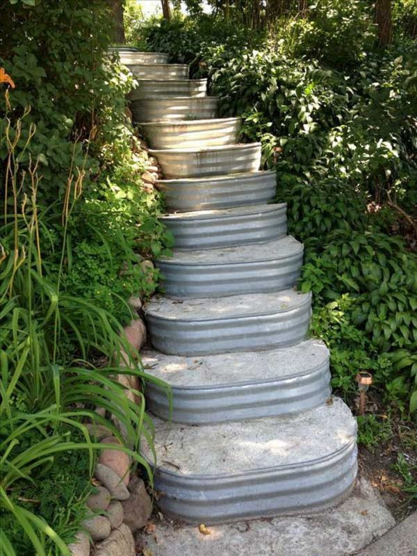 Get 8 Brilliant Diy Vintage And Rustic Garden Decor Ideas On A Medium