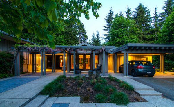 Get Culdesac Garden Midcentury Landscape Vancouver Medium