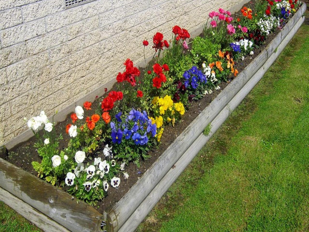 get flower bed ideas small fall garden gardening design co