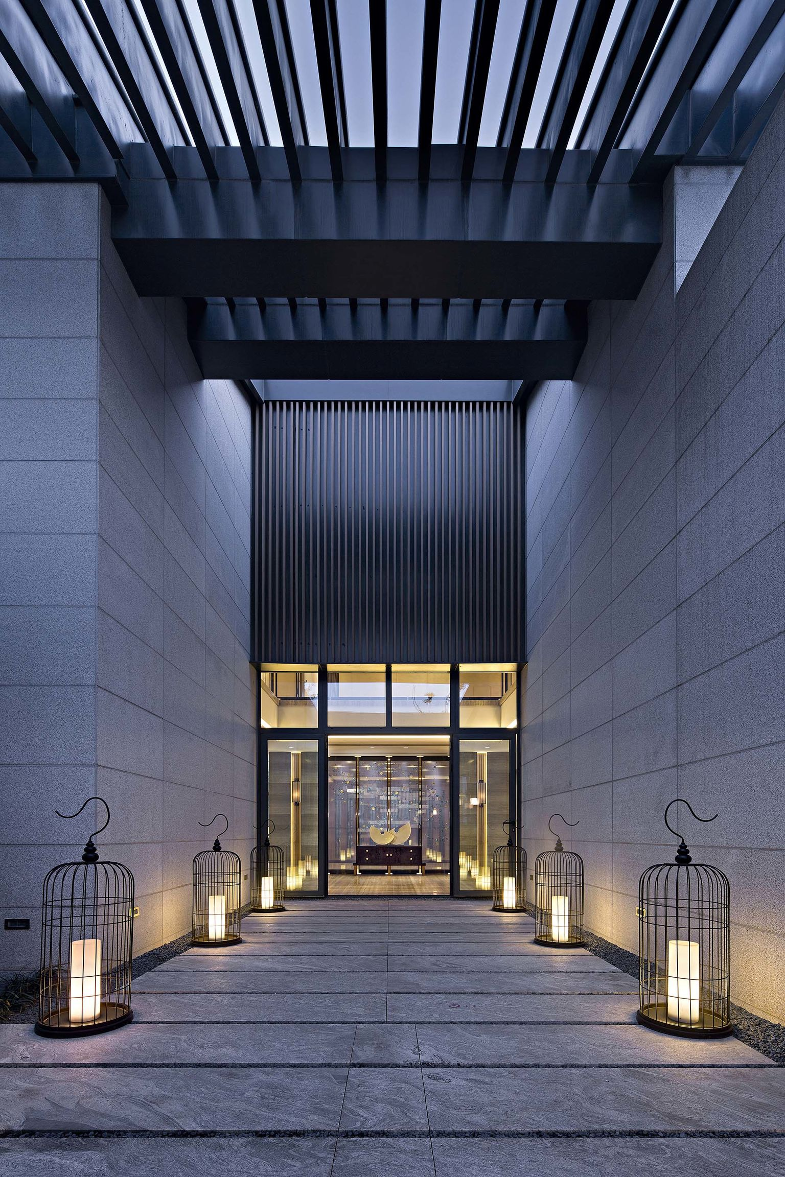 get nanjing mandarin palace entry if world design guide