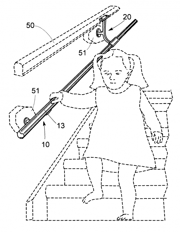 Get Patent Us20060118773 Handrail For Toddlers Google Patents Medium