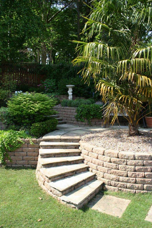 Get Sloping Garden Design Ideas Quiet Corner Medium