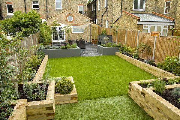 Get Terraced Garden Design Ideas And Tips For A Rectangular Medium