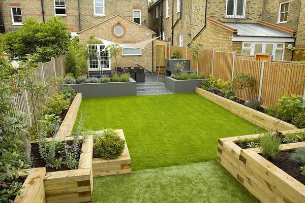 get terraced garden design ideas and tips for a rectangular
