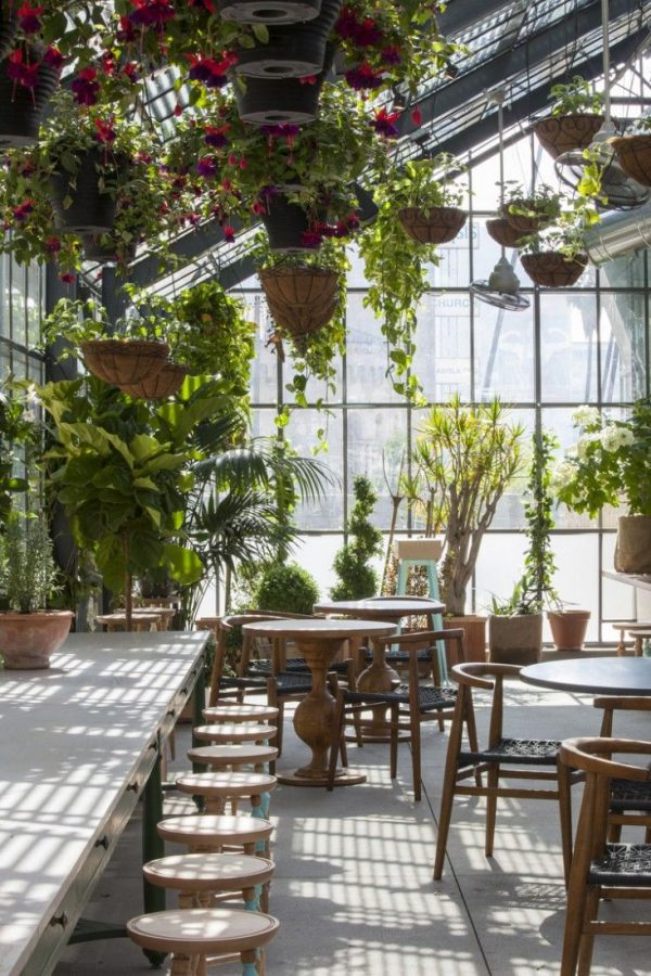 Innovative A Rooftop Oasis In Downtown La Best Garden Cafe Ideas On Medium