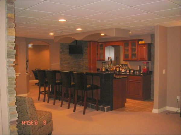 innovative best 25  finished basement bars ideas on medium