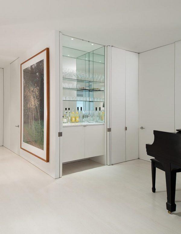 Innovative Hidden Bar Home Bar Modern With Concealed Bar Glass Medium