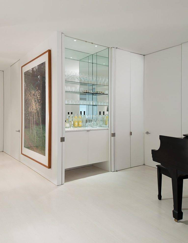 innovative hidden bar home bar modern with concealed bar glass