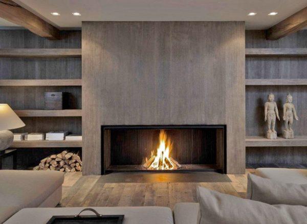 Innovative Metalfire Fireplace With A Modern Wood Lookby The Medium