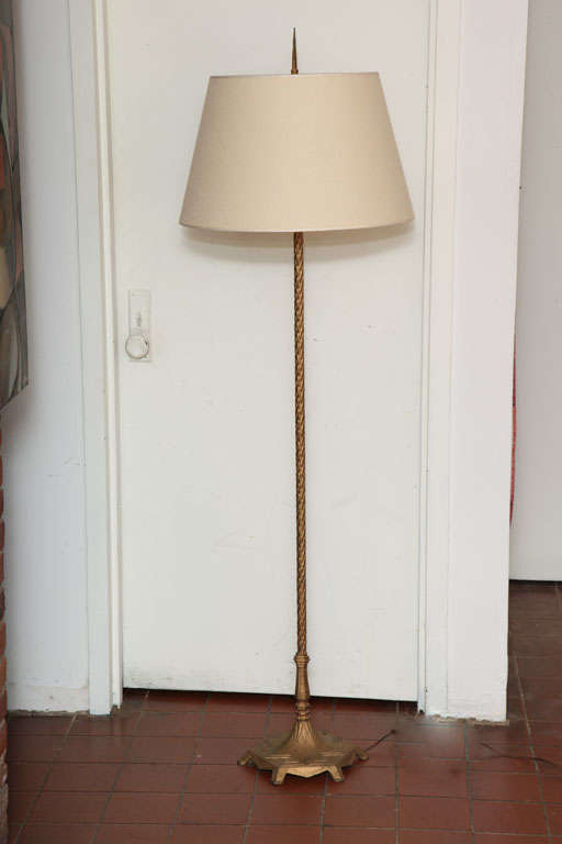 Innovative Neoclassical Antique French Floor Lamp At 1stdibs Medium