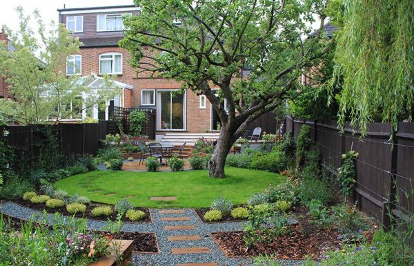 Innovative Sloping Garden Design Ideas Quiet Corner Medium