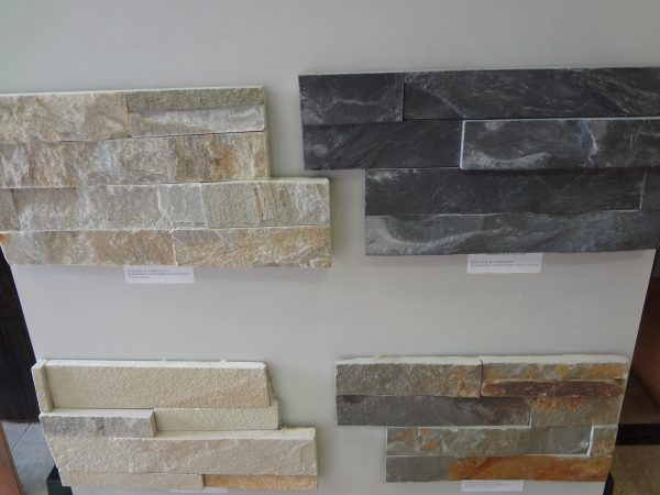 Innovative Stacked Stone Tile Silver Travertine Honed Stacked 3d Medium
